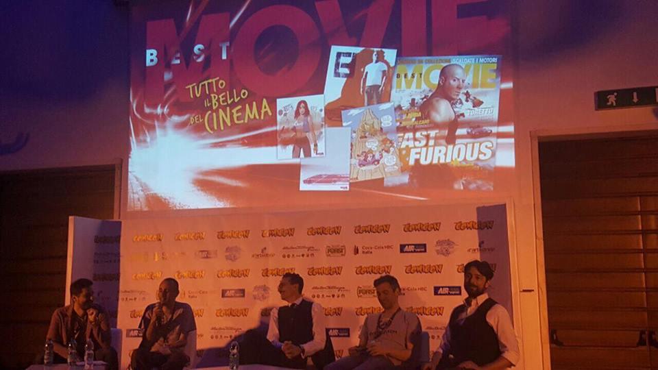 L'incontro organizzato da Best Movie al Napoli Comicon 2017