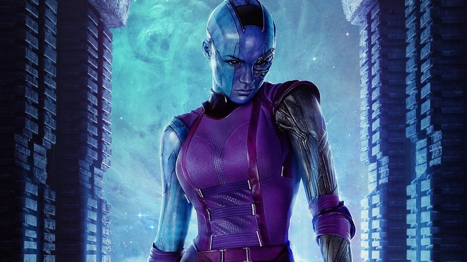 Karen Gillan / Nebula in Guardiani della Galassia