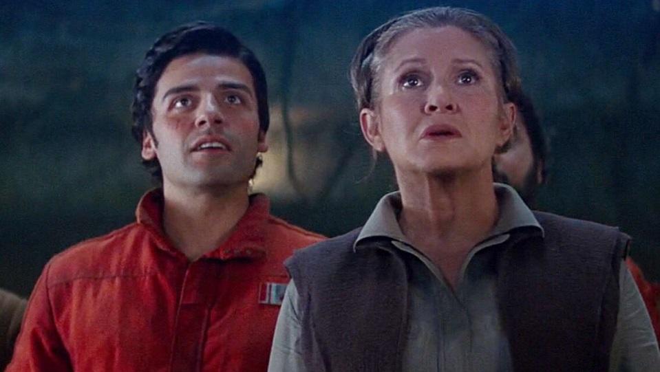 Oscar Isaac e Carrie Fisher avranno una scena intensa in Gli ultimi Jedi