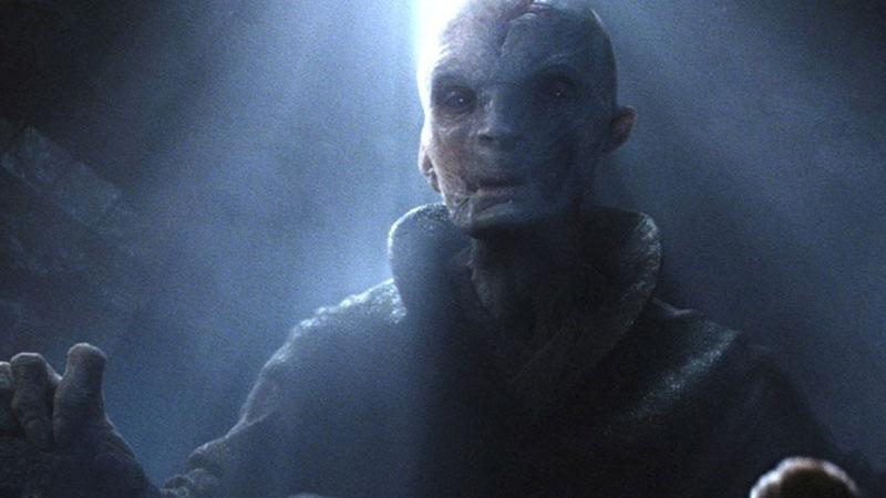 Leader Supremo Snoke, il villain della nuova trilogia di Star Wars