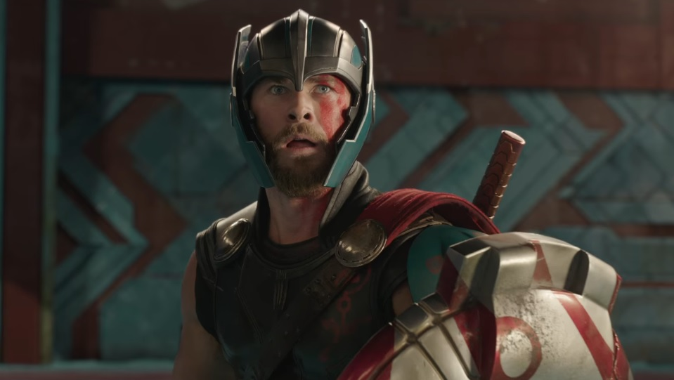 Chris Hemsworth in Thor: Ragnarok / Avengers: Infinity War