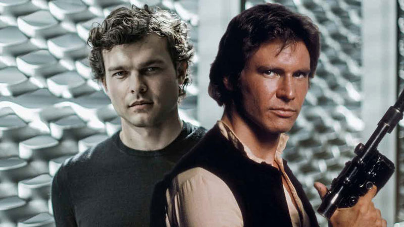Alden Ehrenreich in Han Solo: A Star Wars Story