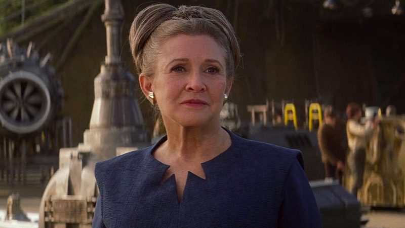 Carrie Fisher è la principessa Leia / Star Wars