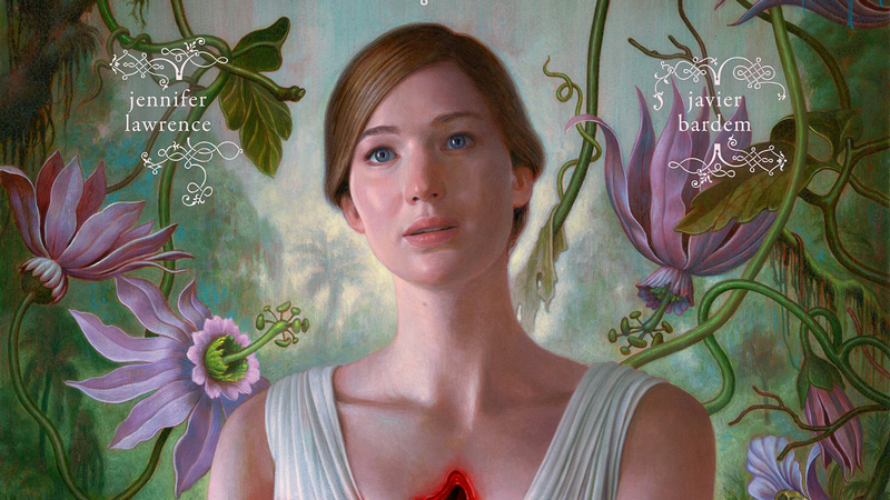 Il primo poster di Mother con Jennifer Lawrence