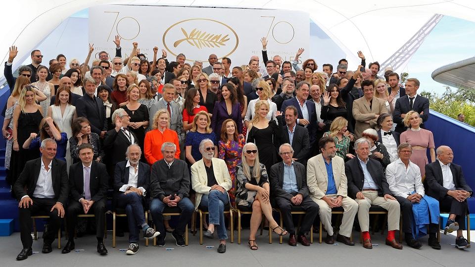 Lo speciale photocall del Festival di Cannes 2017