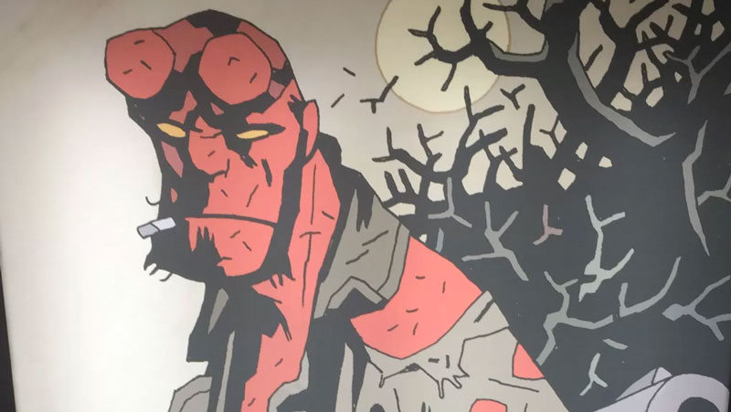Prima foto dal set di Hellboy: Rise of the Blood Queen