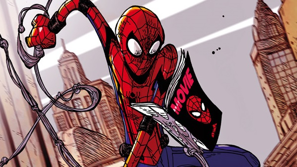 Spider-Man; Homecoming cover Zerocalcare