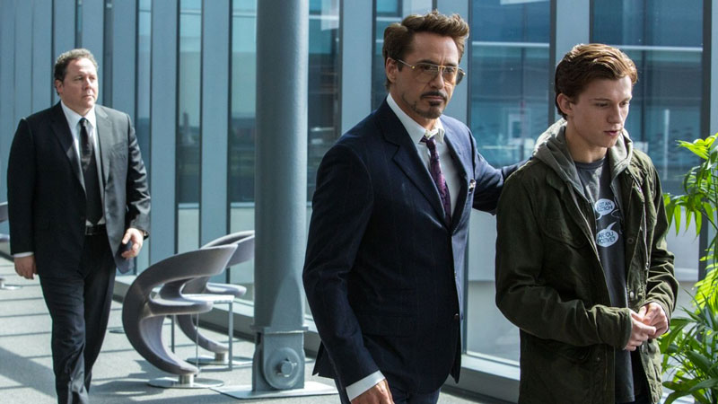 Robert Downey Jr. su Spider-Man: Homecoming