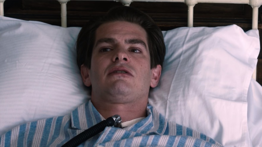 Andrew Garfield in Breathe
