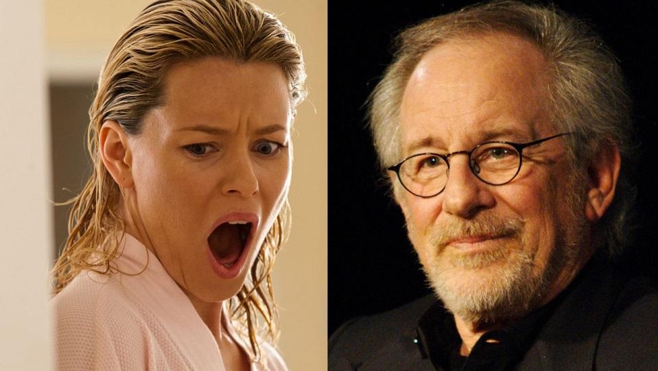 Elizabeth Banks e Steven Spielberg