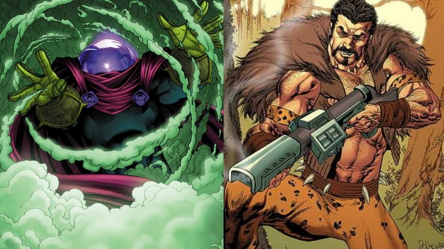 Mysterio e Kraven, villain di Spider-Man