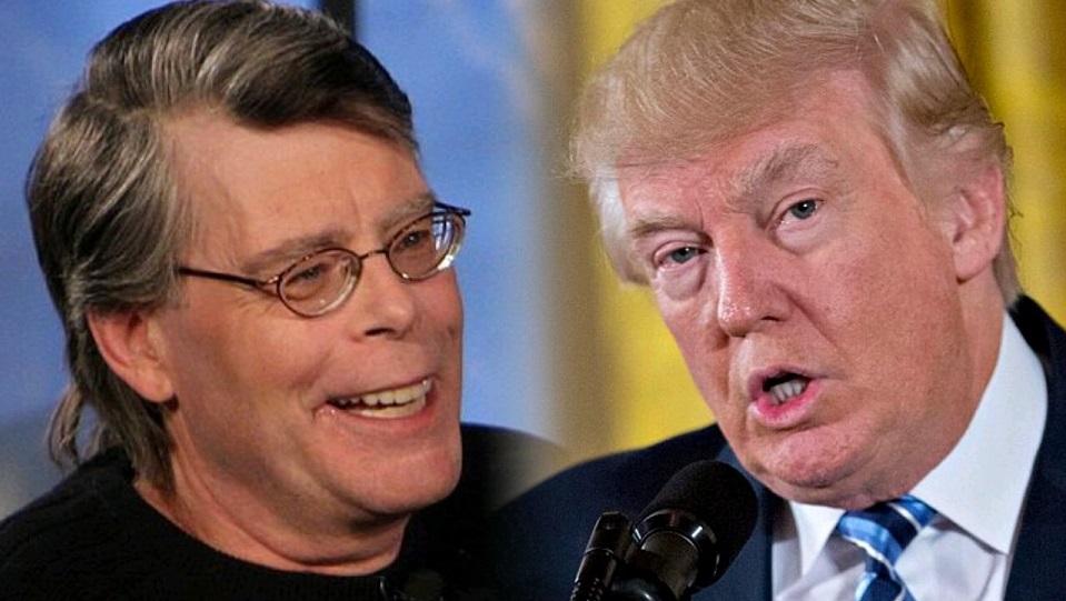 Stephen King e Donald Trump