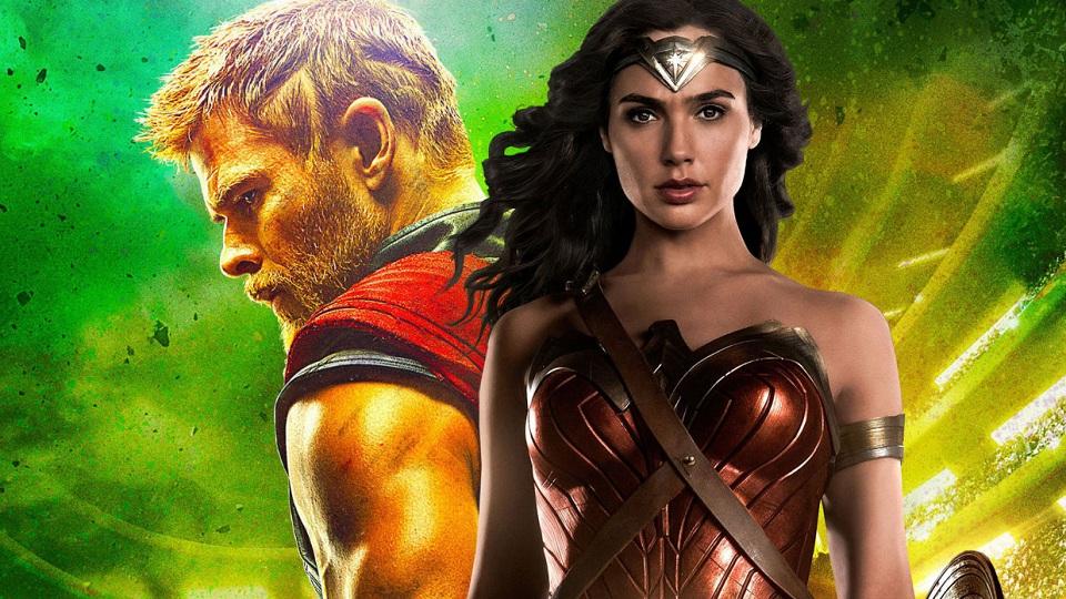 Thor e Wonder Woman