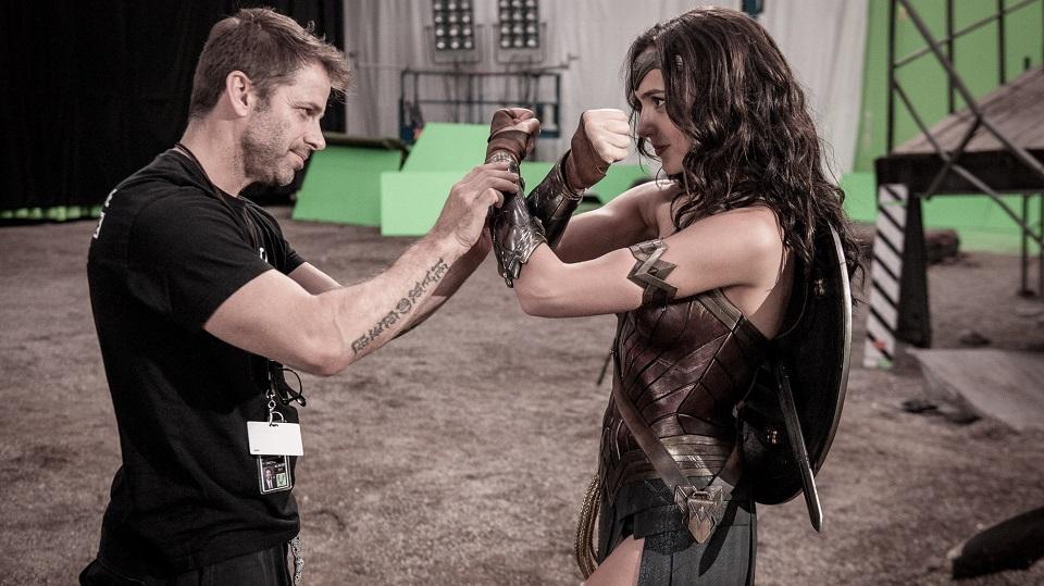Zack Snyder e Wonder Woman