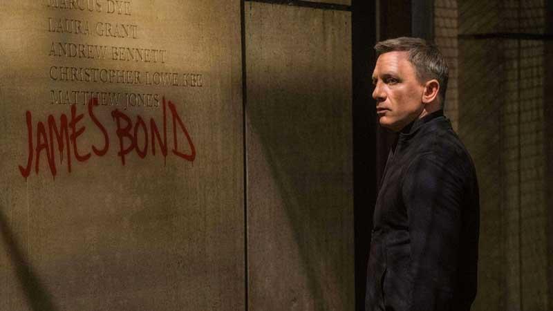 Daniel Craig nei panni di James Bond in Spectre