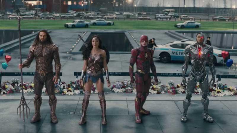 Trailer Comic-con Justice League
