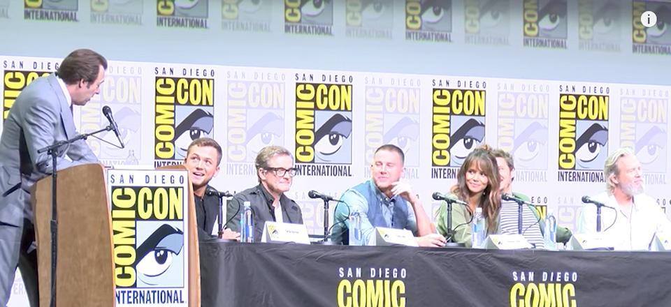Il cast di Kingsman: il cerchio d'oro al Comic-Con 2017