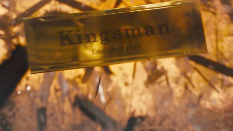 Nuovo trailer di Kingman: Il cerchio d'oro