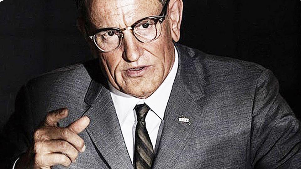 Woody Harrelson nei panni di Lyndon B. Johnson