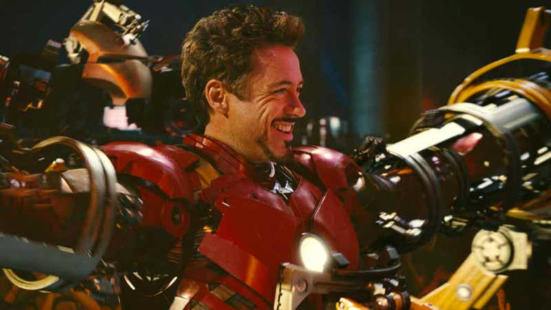 Iron Man sul set di Avengers 4