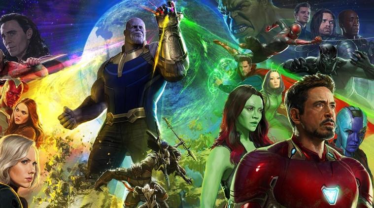 Thanos col guanto dell'infinito