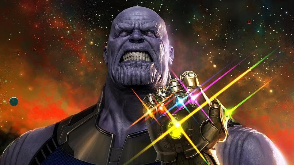 Thanos in Avengers 4 e Avengers: Infinity War