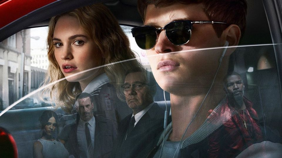 Baby Driver: i character poster