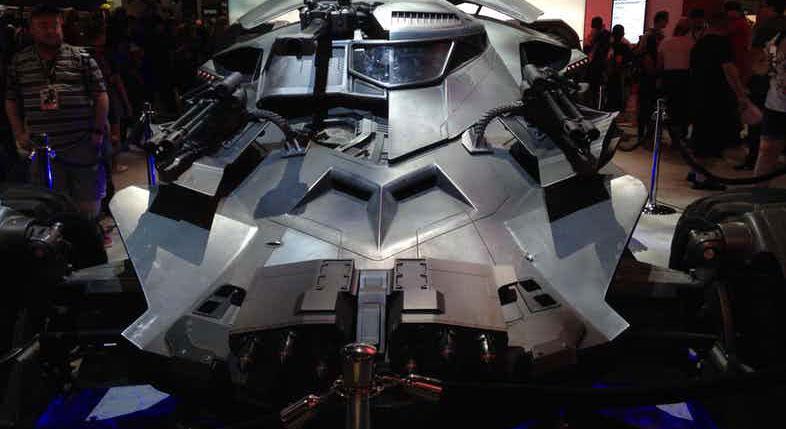 La nuova Batmobile di Justice League