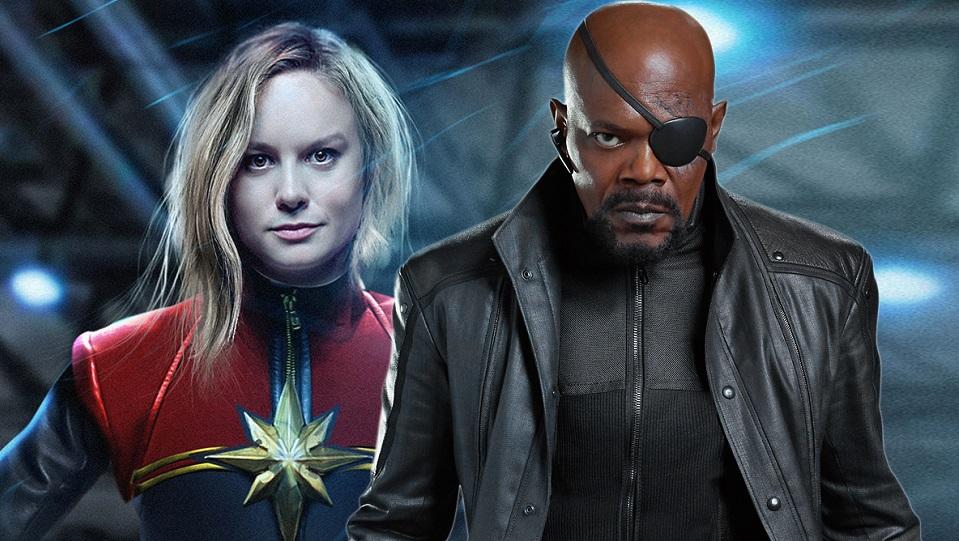 Avengers / Captain Marvel e Nick Fury