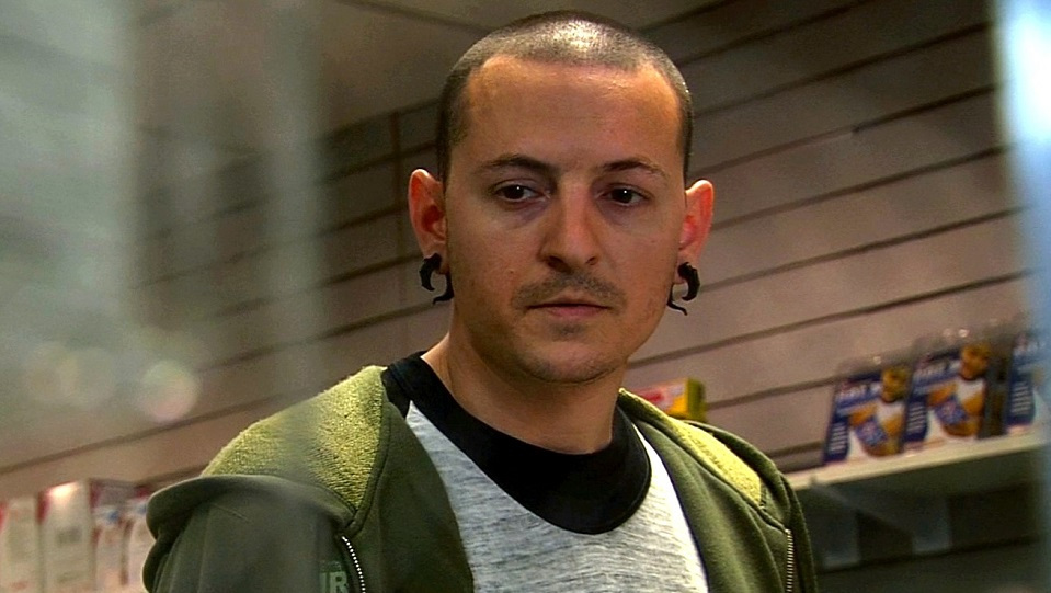 Chester Bennington in Crank