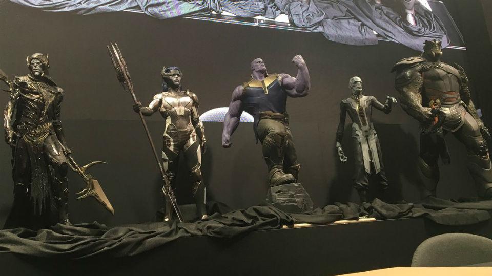 Mostrati alla D23 i figli di Thanos
