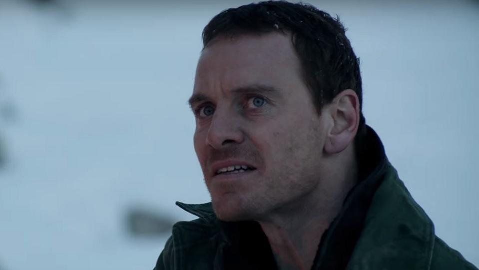 Michael Fassbender in L'uomo di neve
