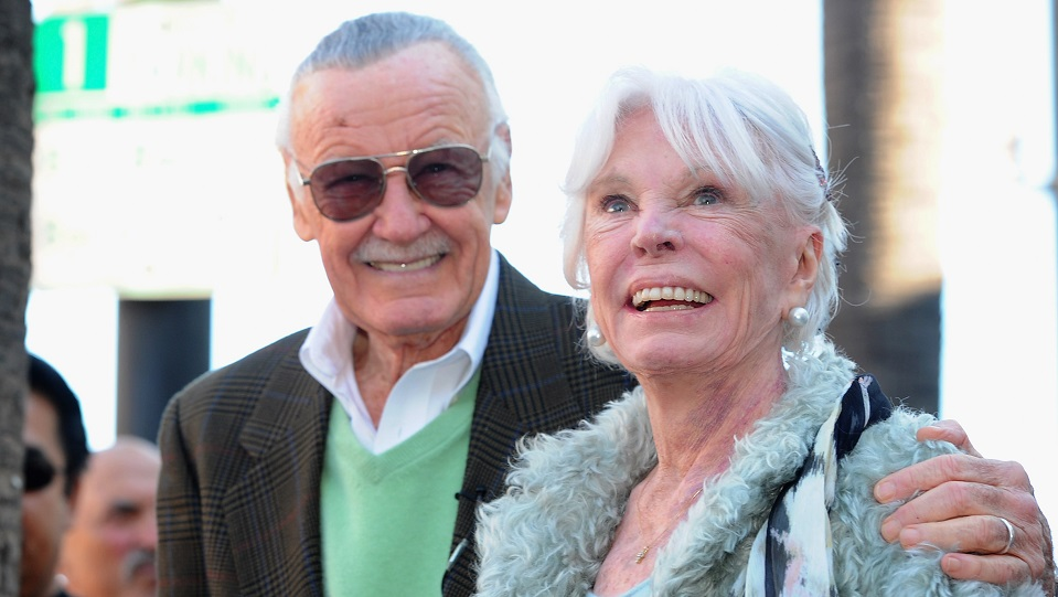 Stan Lee e Joan Lee