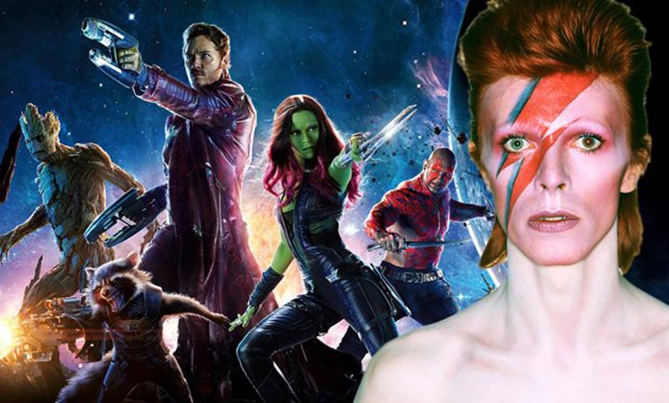 David Bowie in Guardiani della galassia