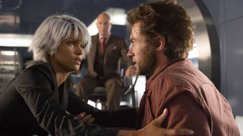 Logan e Tempesta in X-Men