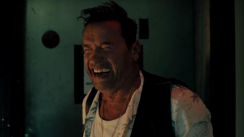 Arnold Schwarzenegger in Killing Gunther