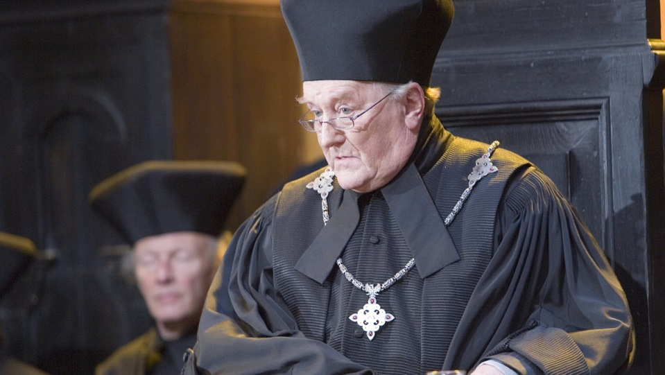 Robert Hardy in Harry Potter