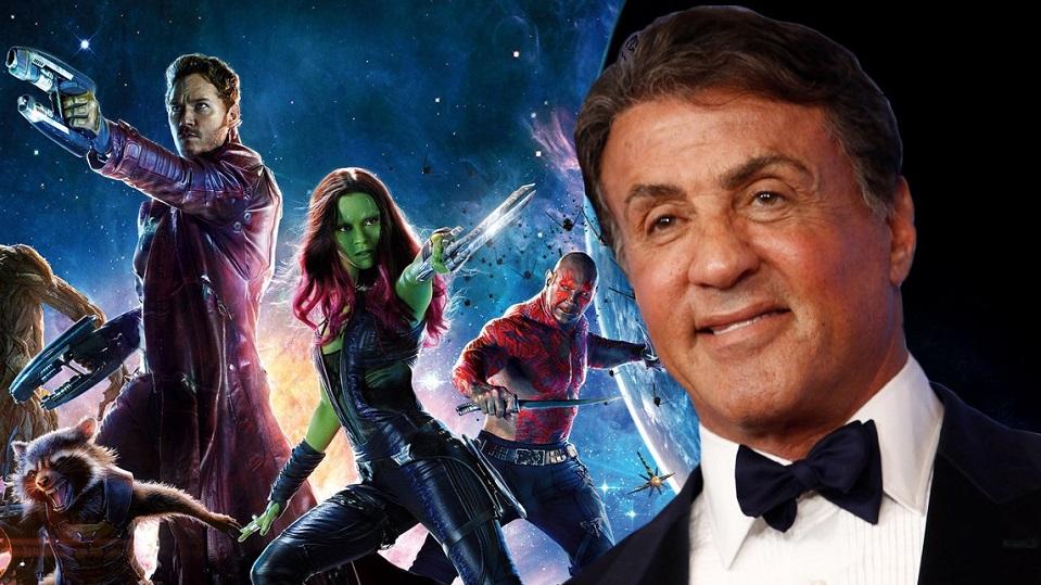Sylvester Stallone e i Guardiani della Galassia