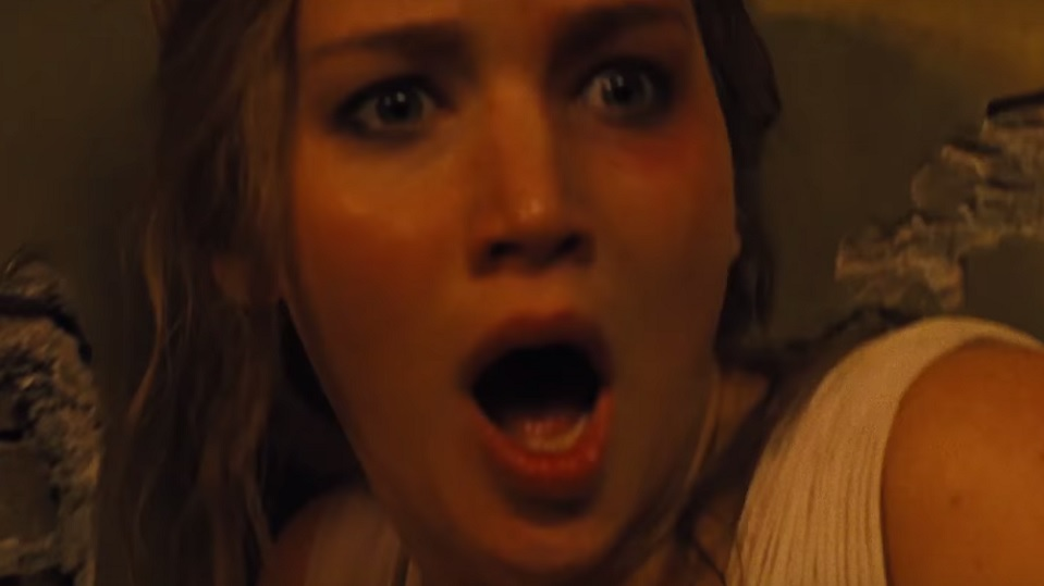 Jennifer Lawrence in Madre!