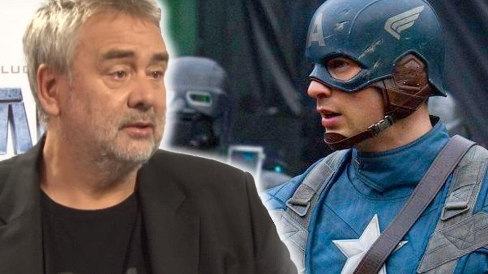 Luc Besson e Captain America