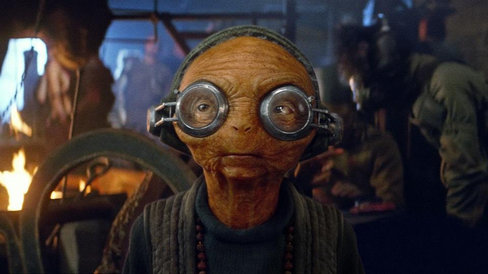 Maz Kanata in Star Wars