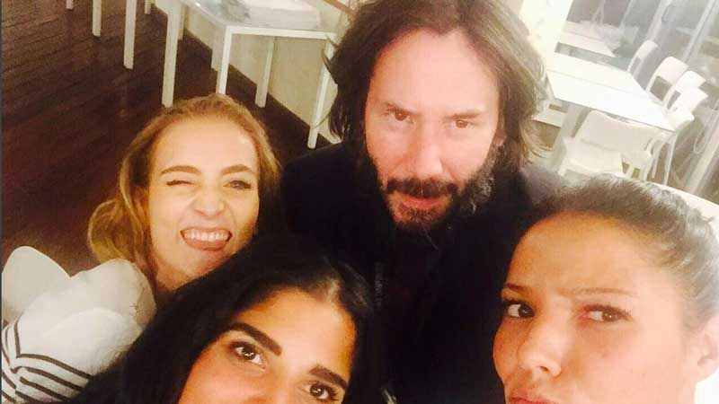 Keanu Rives in Italia