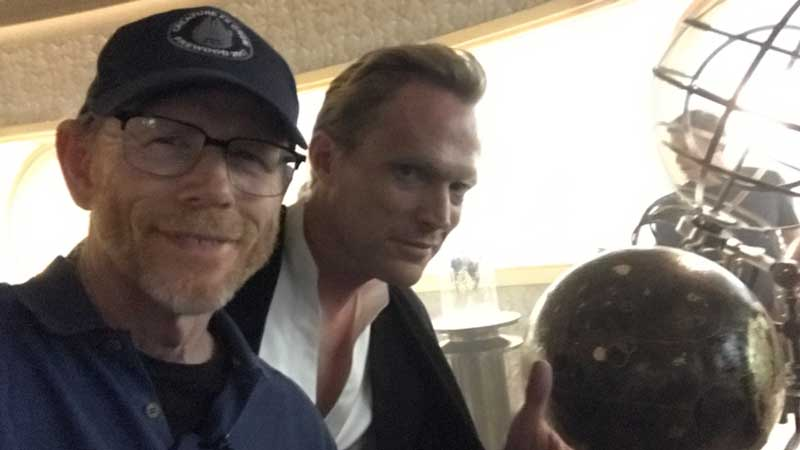 Paul Bettany sul set di Han Solo