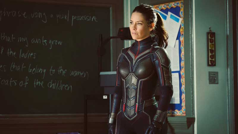 Evangeline Lilly è the Wasp in Ant-Man 2
