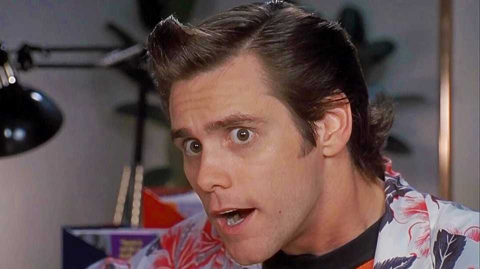 Jim Carrey in Ace Ventura - L'acchiappanimali
