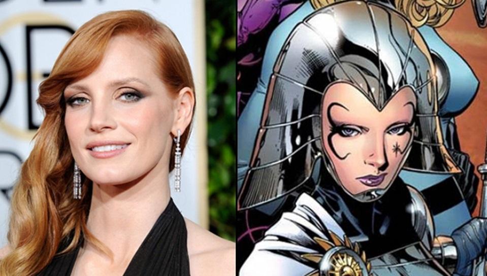 Jessica Chastain / X-Men: Dark Phoenix