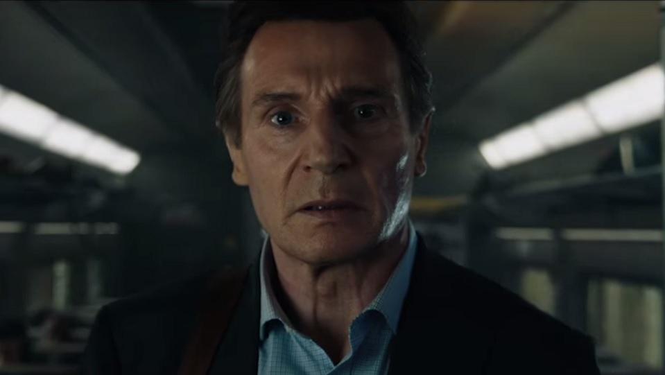Liam Neeson in L'uomo sul treno - The Commuter