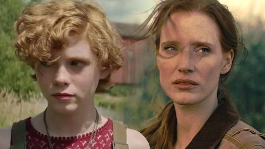 Sophia Lills e Jessica Chastain / IT