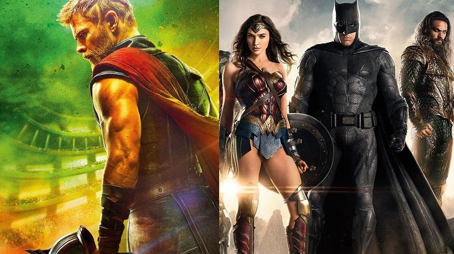 Thor: Ragnarok e Justice League