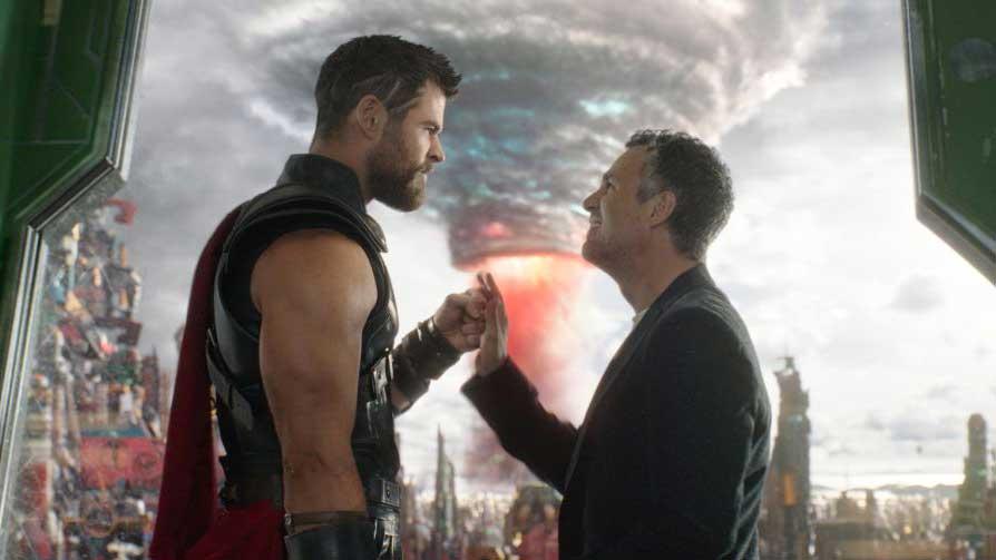 Thor e Hulk amici in Ragnarok